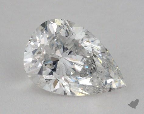 1.21 Carat E-I1 Pear Cut Diamond 