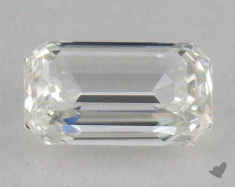 0.79 Carat H-VS1 Emerald Cut Diamond