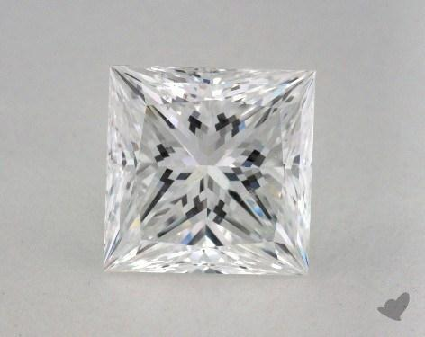 2.06 Carat E-SI1 Ideal Cut Princess Diamond