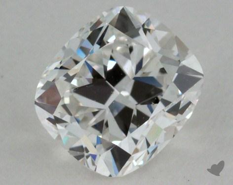 0.90 Carat F-SI1 Cushion Cut Diamond