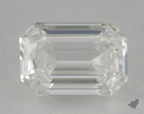 0.70 Carat H-VVS1 Emerald Cut  Diamond
