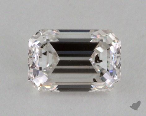 0.58 Carat F-I1 Emerald Cut Diamond