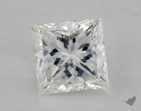 1.10 Carat G-SI2 Princess Cut Diamond 