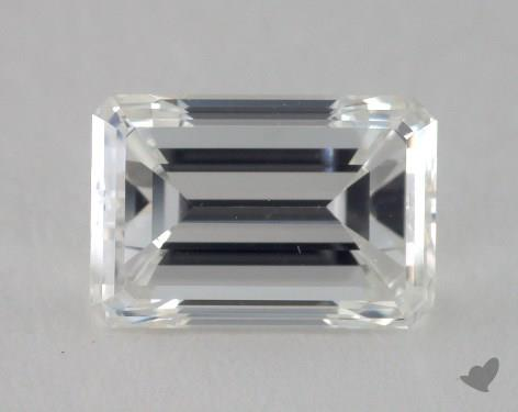 1.00 Carat G-VS1 Emerald Cut Diamond