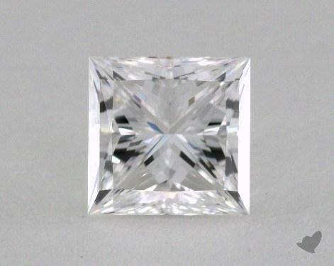 1.03 Carat E-VVS1 Princess Cut  Diamond