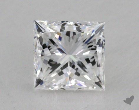 0.99 Carat E-VVS1 Very Good Cut Princess Diamond