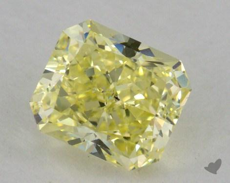 1.73 Carat fancy yellow-SI1 Radiant Cut  Diamond