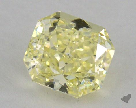 1.75 Carat fancy yellow-VVS2 Radiant Cut Diamond