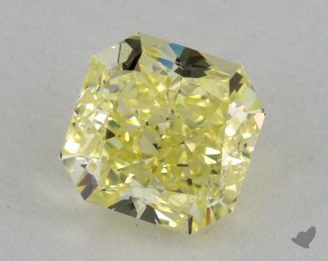 1.80 Carat fancy yellow-VS2 Radiant Cut Diamond