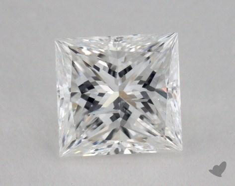 1.50 Carat F-SI2 Princess Cut Diamond 