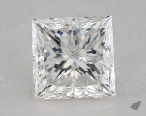 1.01 Carat F-SI2 Very Good Cut Princess Diamond