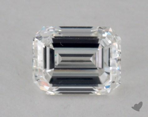 0.49 Carat F-VS1 Emerald Cut Diamond