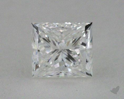 1.00 Carat F-VVS2 Princess Cut  Diamond