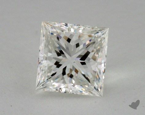3.29 Carat H-VS2 Ideal Cut Princess Diamond
