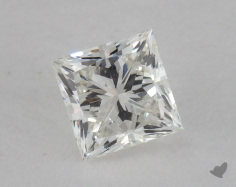 0.45 Carat H-VS1 Ideal Cut Princess Diamond