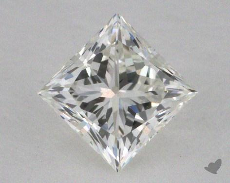 0.62 Carat I-VVS2 Very Good Cut Princess Diamond
