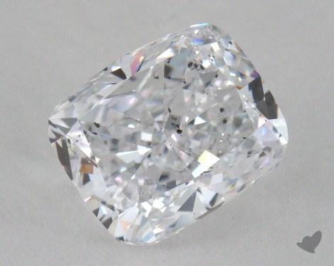 1.52 Carat D-SI2 Cushion Cut Diamond