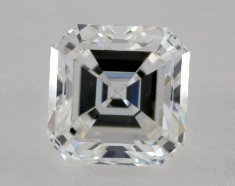 1.01 Carat F-VS2 Asscher Cut Diamond