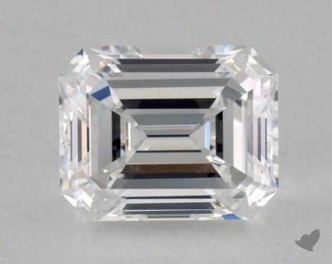 1.73 Carat F-VVS1 Emerald Cut Diamond