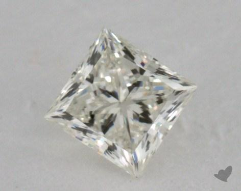 0.53 Carat K-SI1 Ideal Cut Princess Diamond