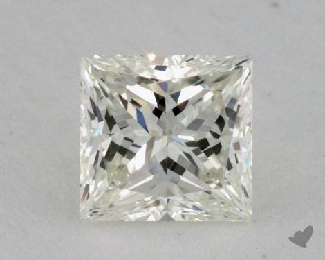 0.61 Carat J-VVS1 Very Good Cut Princess Diamond