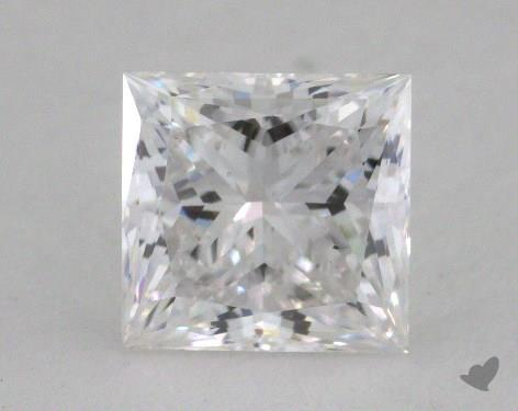 1.00 Carat D-VS2 Princess Cut Diamond
