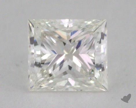 0.71 Carat H-VS1 Very Good Cut Princess Diamond
