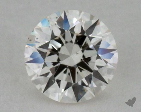 0.54 Carat I-SI1 Ideal Cut Round Diamond