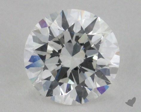 1.04 Carat E-SI2 Excellent Cut Round Diamond