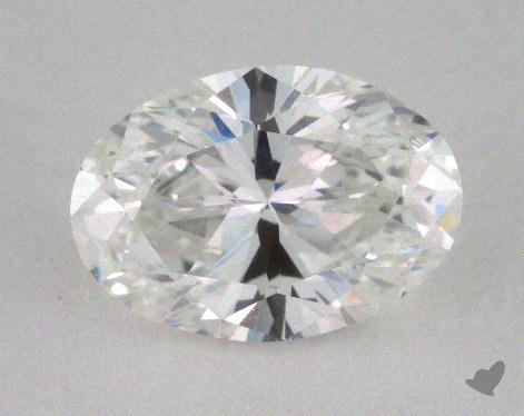 1.00 Carat F-VVS1 Oval Cut Diamond
