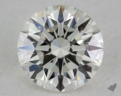 0.30 Carat I-VVS2 Excellent Cut Round Diamond