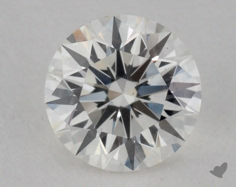 0.76 Carat H-VS2 Excellent Cut Round Diamond