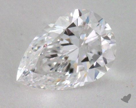 <b>1.01</b> Carat D-VS2 Pear Cut Diamond