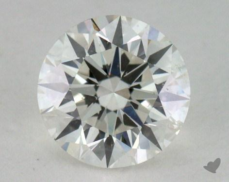 1.10 Carat H-SI2 Excellent Cut Round Diamond