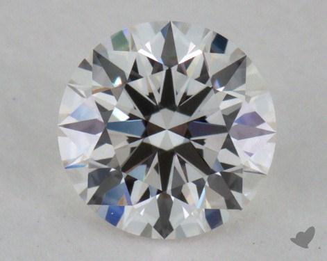 0.52 Carat H-VVS1 Excellent Cut Round Diamond