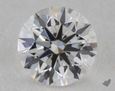 0.40 Carat F-VVS1 Excellent Cut Round Diamond 