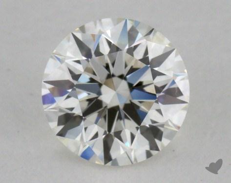 0.61 Carat I-VVS2 Excellent Cut Round Diamond