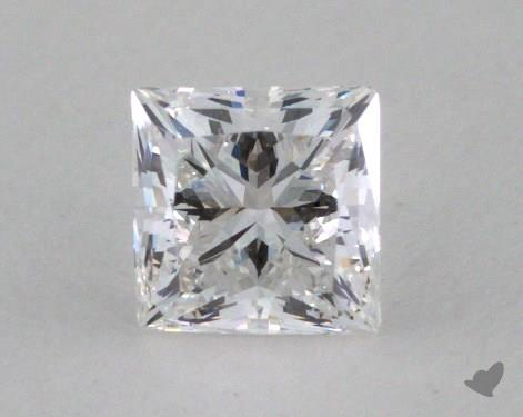 0.53 Carat D-VVS1 Very Good Cut Princess Diamond