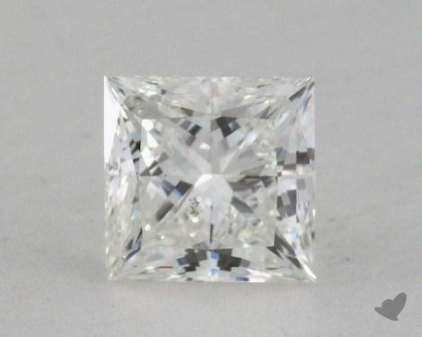0.59 Carat I-SI2 Princess Cut Diamond