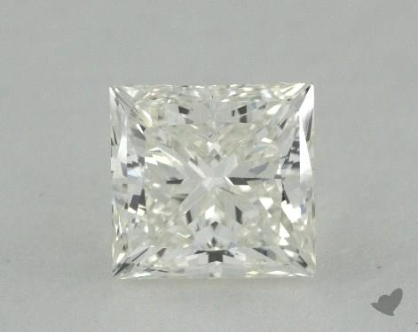 0.81 Carat H-IF Ideal Cut Princess Diamond