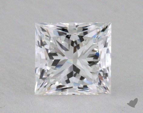 1.04 Carat D-VVS2 Very Good Cut Princess Diamond