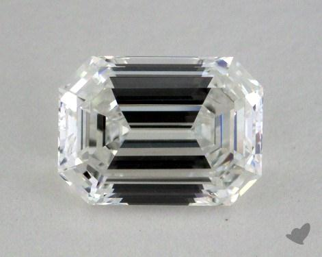 1.24 Carat F-VVS2 Emerald Cut Diamond