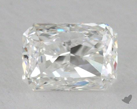 0.81 Carat F-VS1 Radiant Cut  Diamond