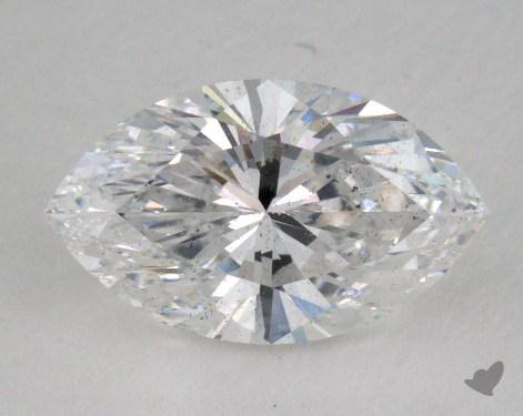 1.51 Carat E-SI2 Marquise Cut Diamond
