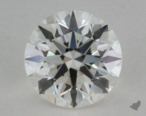 1.04 Carat H-IF Excellent Cut Round Diamond