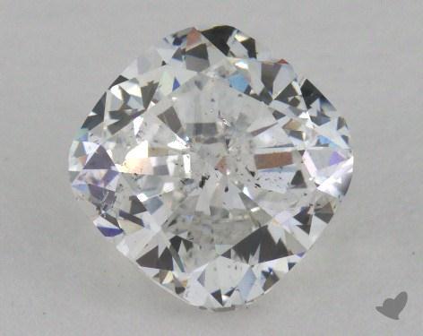 1.72 Carat G-SI2 Cushion Cut Diamond