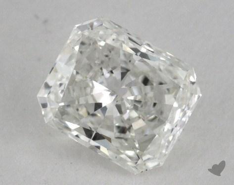 0.75 Carat F-SI1 Radiant Cut Diamond