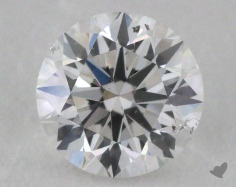 0.47 Carat E-I1 Very Good Cut Round Diamond