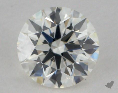 0.41 Carat I-VVS1 True Hearts<sup>TM</sup> Ideal Diamond