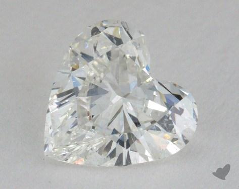 1.58 Carat G-SI2 Heart Shape Diamond